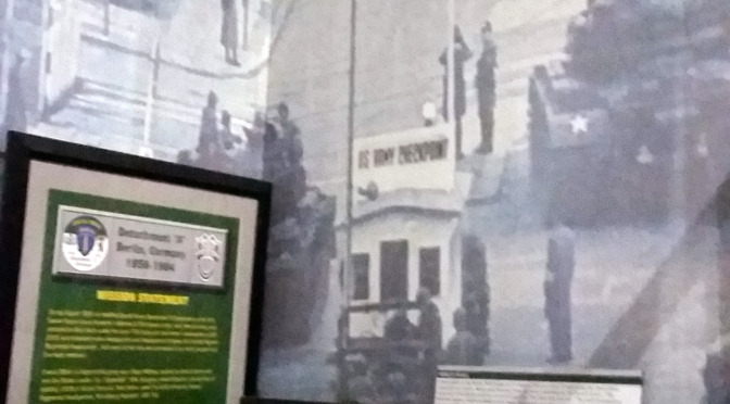 Detachment(A) Display at JFK Museum