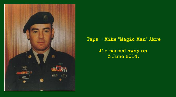 "TAPS – Mike ""Magic Man"" Akre"