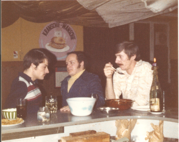 Left to Right: Billy Krieger, Dennis Hebler, Klemme Lemcke