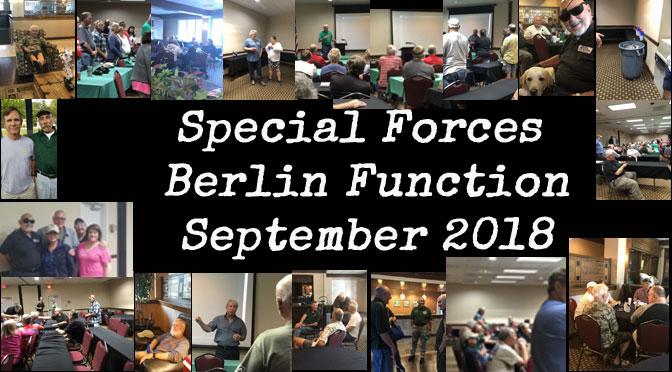 """2018 Detachment """"A""""/PSSE Special Forces Berlin Function Asheville NC"""