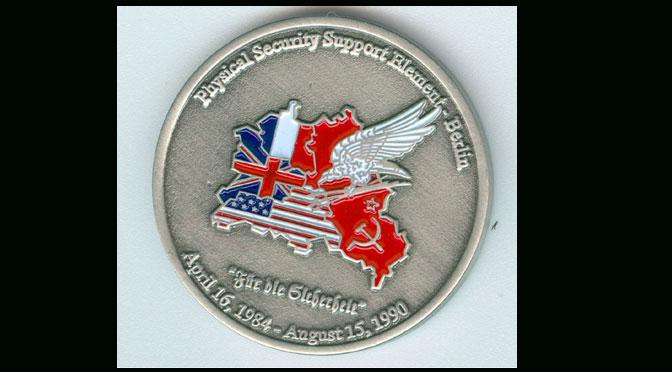 PSSE Challenge Coin