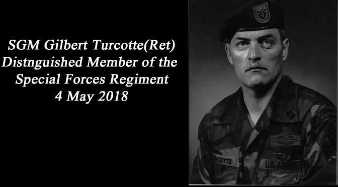 DMOR SGM Gilbert Turcotte(Ret)