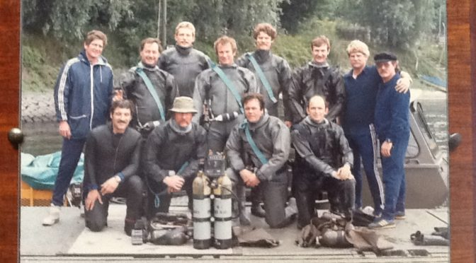 "Detachment""A"" Scuba Cross Training with the Royal Engineers in Kiel Germany"