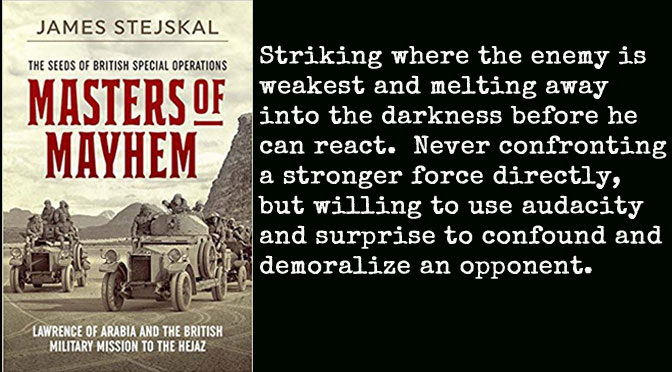 New Book Masters of Mayhem – James Stejskal