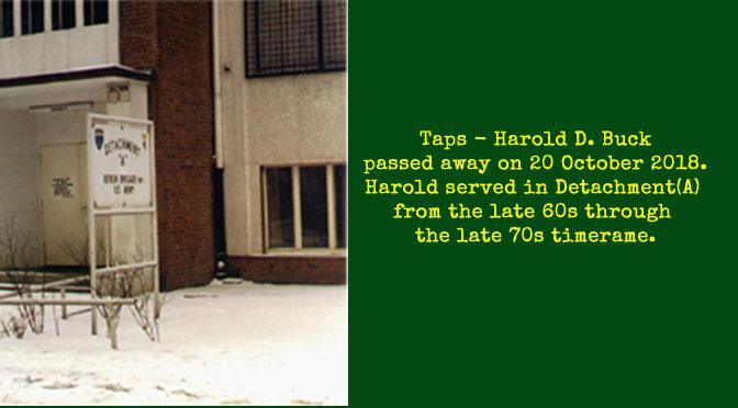 TAPS -Harold D. Buck