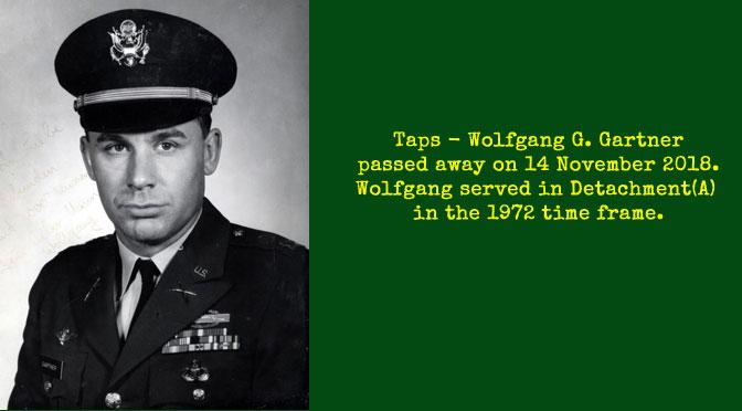 TAPS – Wolfgang G. Gartner