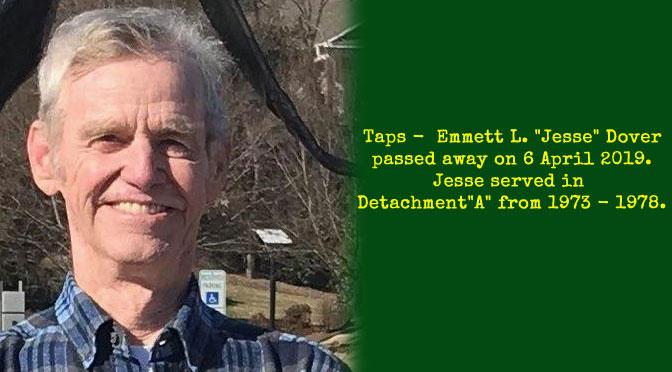 "TAPS – Emmett L. ""Jesse"" Dover"