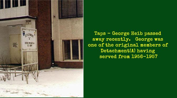 TAPS – George Heib