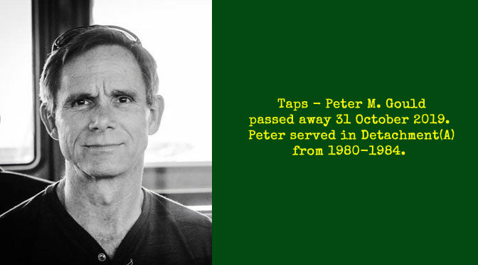 TAPS – Peter M. Gould