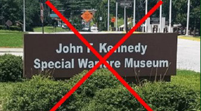 PETITION TO KEEP THE SPECIAL FORCES JFK MUSEUM OPEN