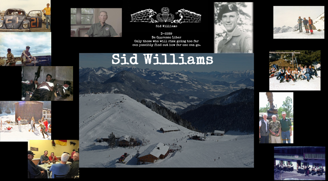 "Former Detachment ""A"" Member Interview – Sid Williams"