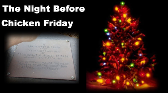The Night Before Chicken Friday
